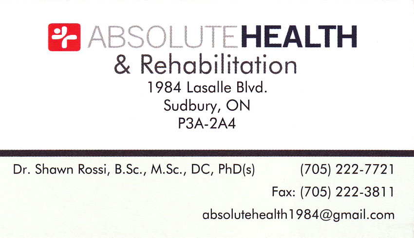 Absolute-Health-&-Rehabilitation-Sudbury-ON-Dr.-Shawn-Rossi-Chiropractor
