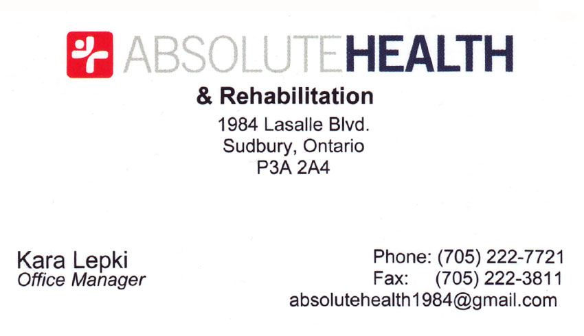 absolute-health-rehabilitation-sudbury-on-kara-lepki-office-manager