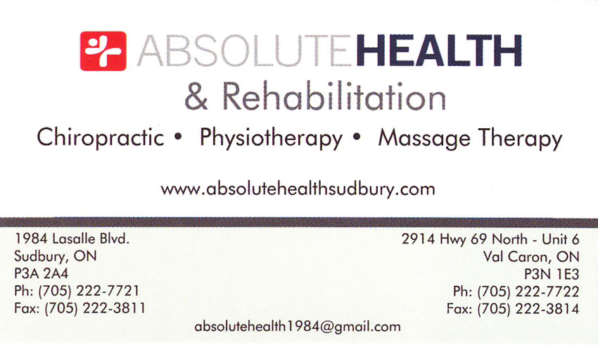 Absolute-Health-&-Rehabilitation-Sudbury-ON