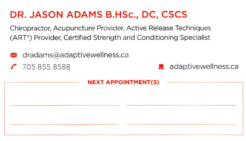 adaptive-health-wellness-chelmsford-ontario-dr-jason-adams-chiropractor-acupuncture-chiropractic