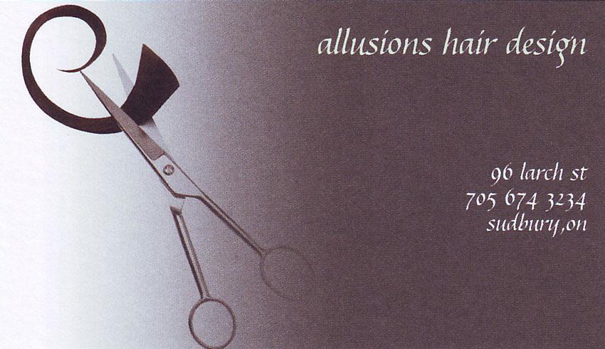 Allusions Hair Design on Larch Street in Sudbury