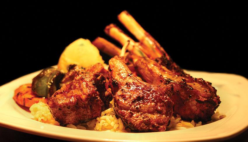 Apollo-Restaurant-Sudbury-Ontario-Lambshank-Rack-of-Lamb-Dinner-Fine-Dining