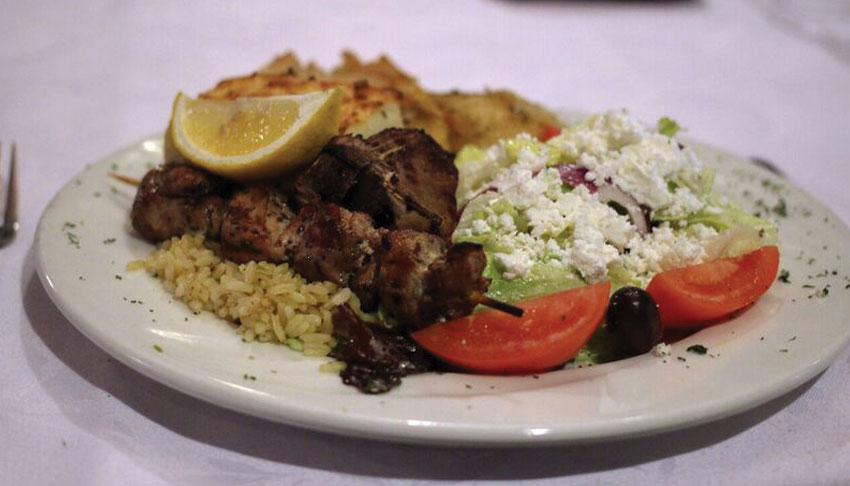 Apollo-Restaurant-Sudbury-Ontario-Souvlaki-Dinner-Lemon-Potatoes-Rice