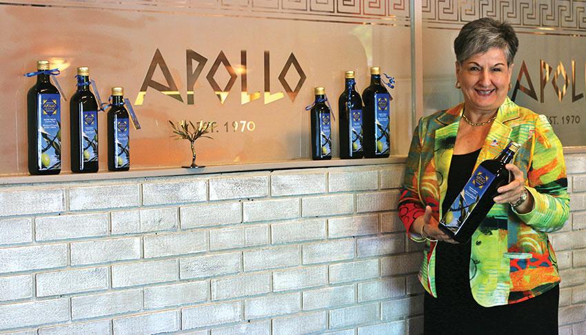 Apollo-Restaurant-Sudbury-Ontario-Toula-with-Olive-Oils