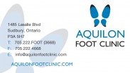 Aquilon Foot Clinic Sudbury Ontario Foot Care