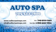 Auto Spa Car Washing Sudbury Ontario Car Washes Auto Detailing Car Upholstery Shampoo