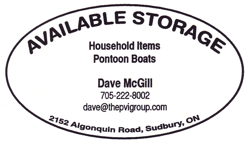 Available Storage Sudbury Ontario Storage Facilities Self Service Dave McGill