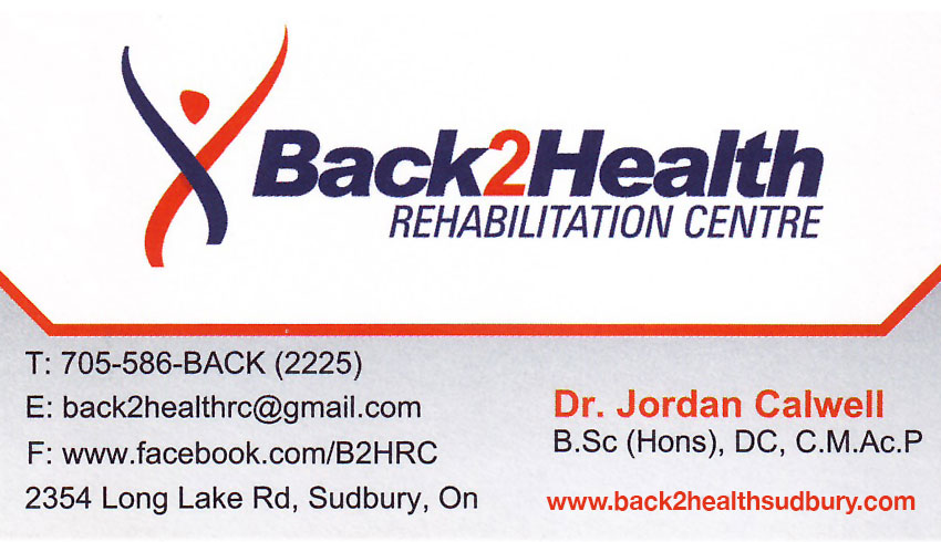 Back-2-Health-Rehabilitation-Centre-Sudbury-Ontario-Dr-Jordan-Calwell-Chiropractor-Acupuncture