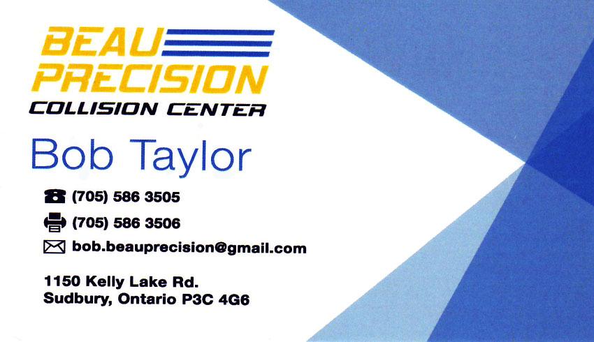 Beau-Precision-Collision-Centre-Sudbury-Ontario-Bob-Taylor-Auto-Body-Repair