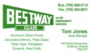 Best-Way Glass Doors Windows Sudbury ON Tom Jones