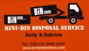 Bin Here Bin There Mini Waste Bins Disposal Service in Greater Sudbury
