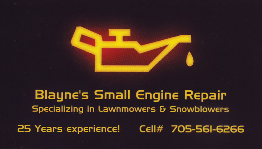 Blaynes-Small-Engine-Repair-Sudbury-and-Surrounding-Lawnmower-Snowblower-Repairs