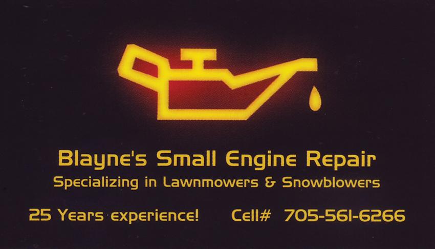 Blaynes-Small-Engine-Repair-Sudbury-and-Surrounding-Lawnmower-Snowblower-Repairs