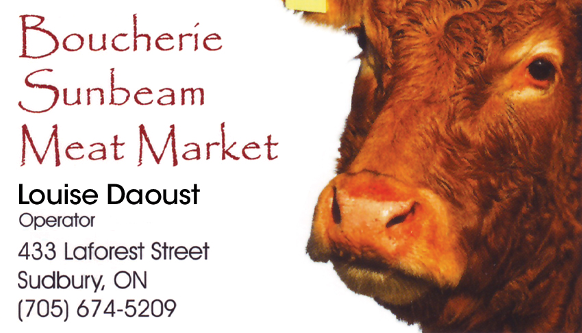 Boucherie-Sunbeam-Meat-Market-Sudbury-Ontario-Louise-Daoust-Operator-Butcher-Shops