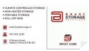 Brady Storage Solutions Sudbury Ontario