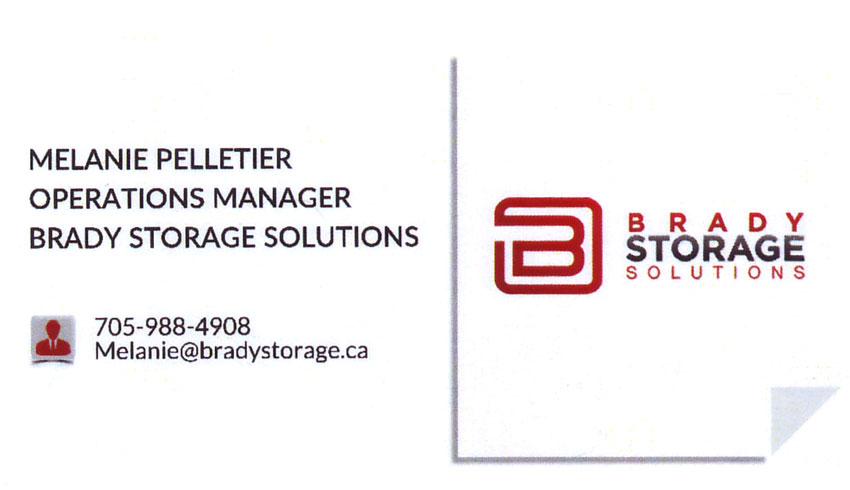 Brady-Storage-Solutions-Sudbury-Ontario-Melanie-Pelletier