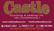 Castle Plumbing Heating Ltd Sudbury Ontario Heating Contractors Plumbers Fireplaces Furnaces Boilers Pumps