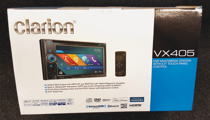 Clarion-Multimedia-Station-DVD-Car-Touch-Panel-Northern-Auto-Sound-Sudbury-Ontario