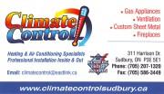Climate Contraol Sudbury Ontario Heating & Air Conditioning Contractors Furnaces Propane