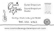 Cosmic Dave's Guitar Emporium Elgin Street Sudbury