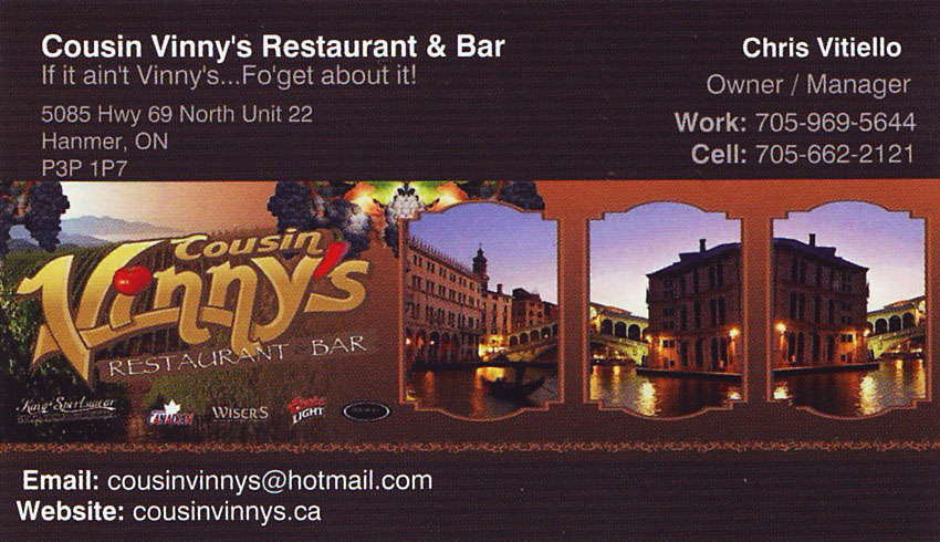 Cousin Vinny's Restaurant and Bar