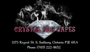 Crystal Fog Vapes in Sudbury Ontario Vaping Supplies Vape Lounge
