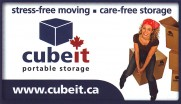 Cube It Portable Storage and Moving Greater Sudbury Business Card