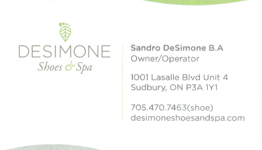 DeSimone-Shoes-and-Spa-Sudbury-Ontario-Sandro-DeSimone-Owner-Operator-Footwear