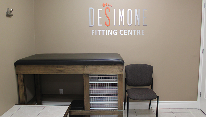 Desimone-Foot-Ankle-Clinic-Sudbury-Ontario-Fitting-Room