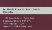 Dr. Martin Martic Dentistry in Sudbury Ontario Dental Services and Dental Office