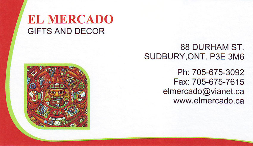 El Mercado Gift Shop Giftware and Home Decor in Downtown Sudbury