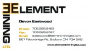 Element Mining Ltd in Sudbury Ontario Devon Eastwood Equipment Brokers and Mining Supply