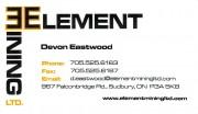 Element Mining Ltd in Sudbury Ontario Devon Eastwood Equipment Brokers and Mining Supply