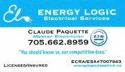 Energy Logic Electrical Services Claude Paquette Master Electrician