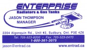 Enterprise Radiators & Gas Tanks Sudbury Ontario Automotive Car Repair