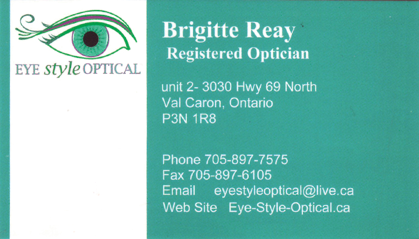 Eye-Style-Optical-Brigitte-Reay-Registered-Optometrist-Val-Caron-Greater-Sudbury-Optometry