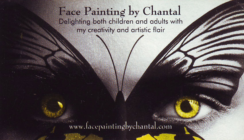 Face Painting By Chantal 2