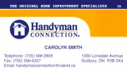 Handyman Connection Sudbury Ontario Home Improvements Renovations Carpenters Painting Siding Drywall Contractors