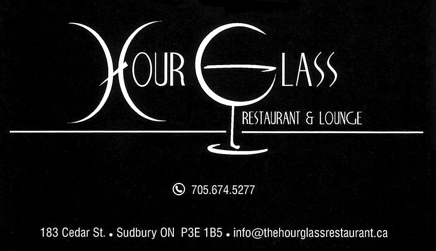 Hour Glass Restaurant & Lounge Cedar Street Sudbury