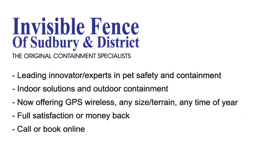 Invisible-Fence-of-Sudbury-and-District-Pet-Products-and-Services-Pet-Containment-Specialists