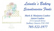 Leinalas Bakery Scandanavian Foods and Bakeries in Sudbury Ontario