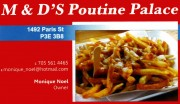 m & D's Poutine Palace Chip Stand in Sudbury Ontario