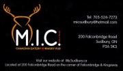 MIC Canadian Eatery and Whiskey Pub M.I.C. Restaurants Sudbury Ontario Restaurant Caterers Bars Take Out Food