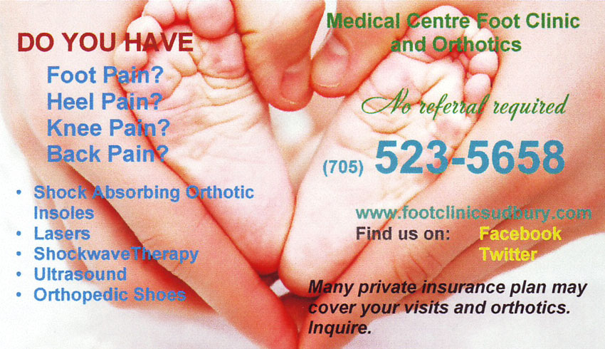 Medical-Centre-Foot-Clinic-and-Orthotics-Sudbury-Ontario-Riaz-Bagha-Chiropodist-Heel-Spurs-Foot-Pain