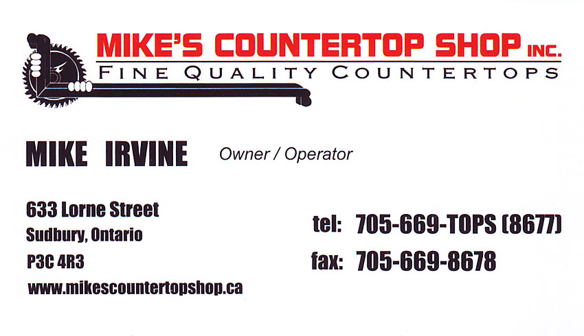 Mikes-Countertop-Shop-Sudbury-Ontario-Countertops-Kitchen-Bathroom-Remodelling-Mike-Irvine-Owner