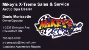 Mikey's X-Treme Sales & Service Arctic Spa Dealer in Chelmsford Greater Sudbury Ontario, Denis Morissette Owner