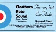 Northern Auto Sound Sudbury Ontario Normand Pinard