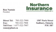 Northern Insurance Brokers Inc Sudbury Ontario Ron Nantais