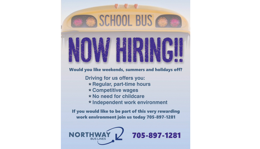 Northway-Bus-Lines-Sudbury-Val-Caron-School-Bus-Charter-Drivers-Wanted-Now-Hiring