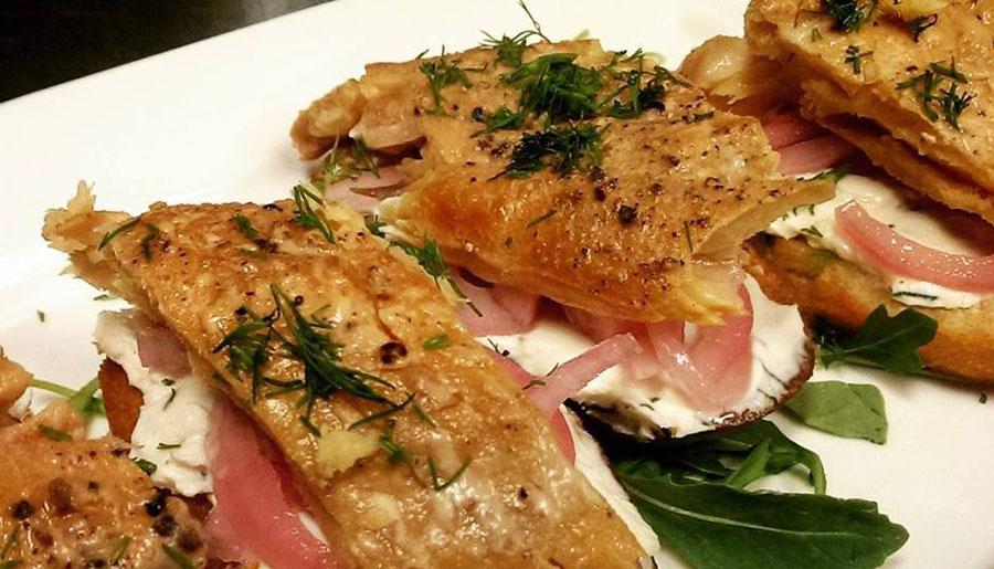 Oscars-Grill-Sudbury-ON-Restaurant-Lake-Trout-Crostini